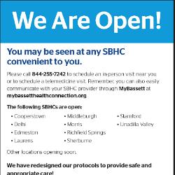 SBHC Flyer (5/2020)
