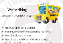 School Bus Driver Flyer 2019
