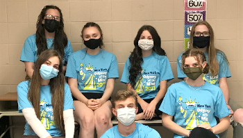 SEHS Odyssey of the Mind team (6/2021)