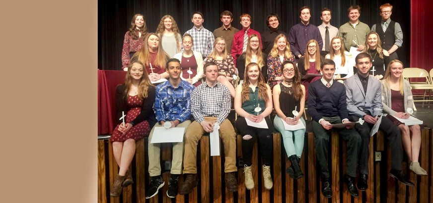 S-E National Honor Society 2017-18