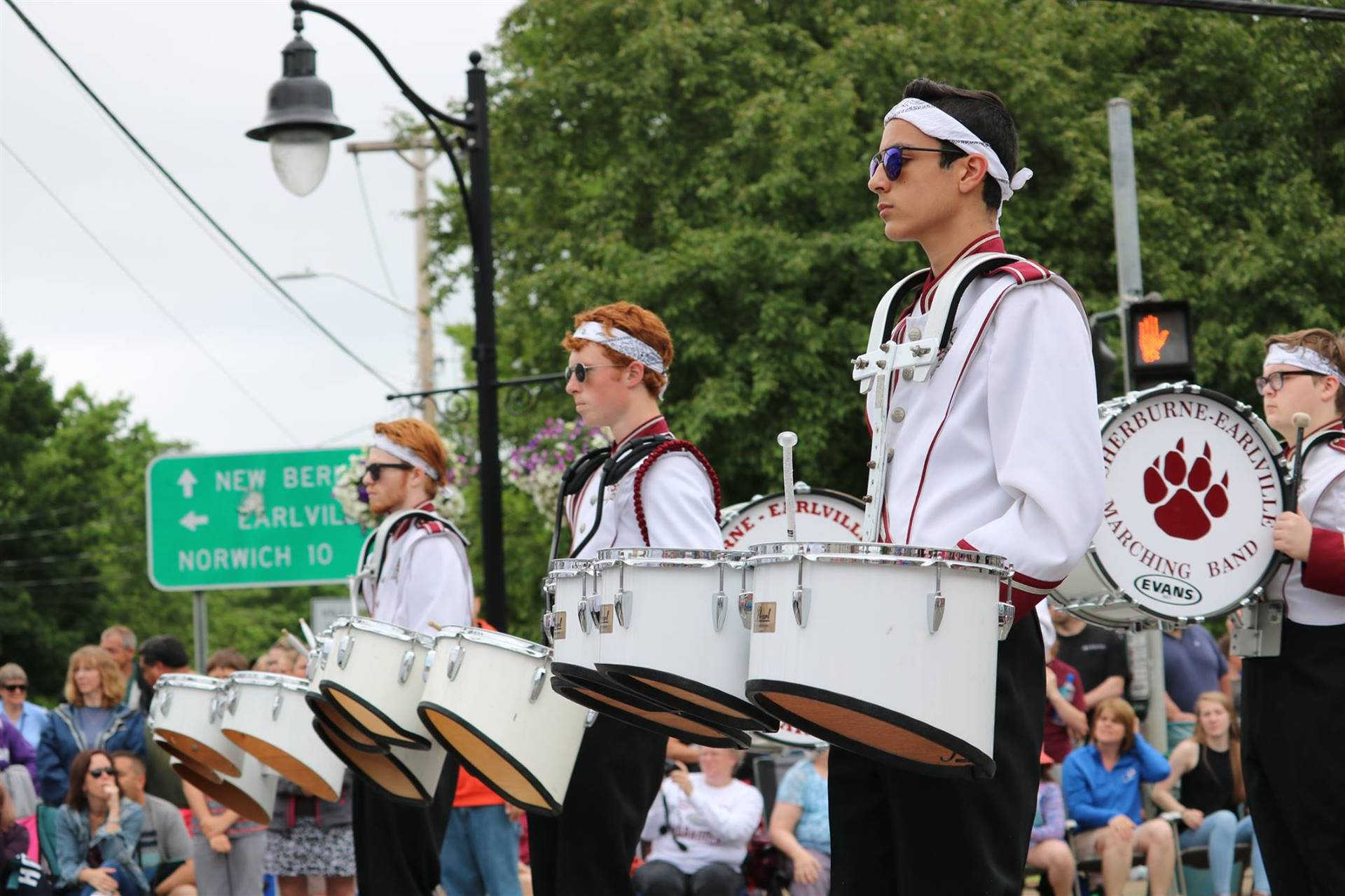 Sherburne Pageant of Bands 2018 Drummers photo