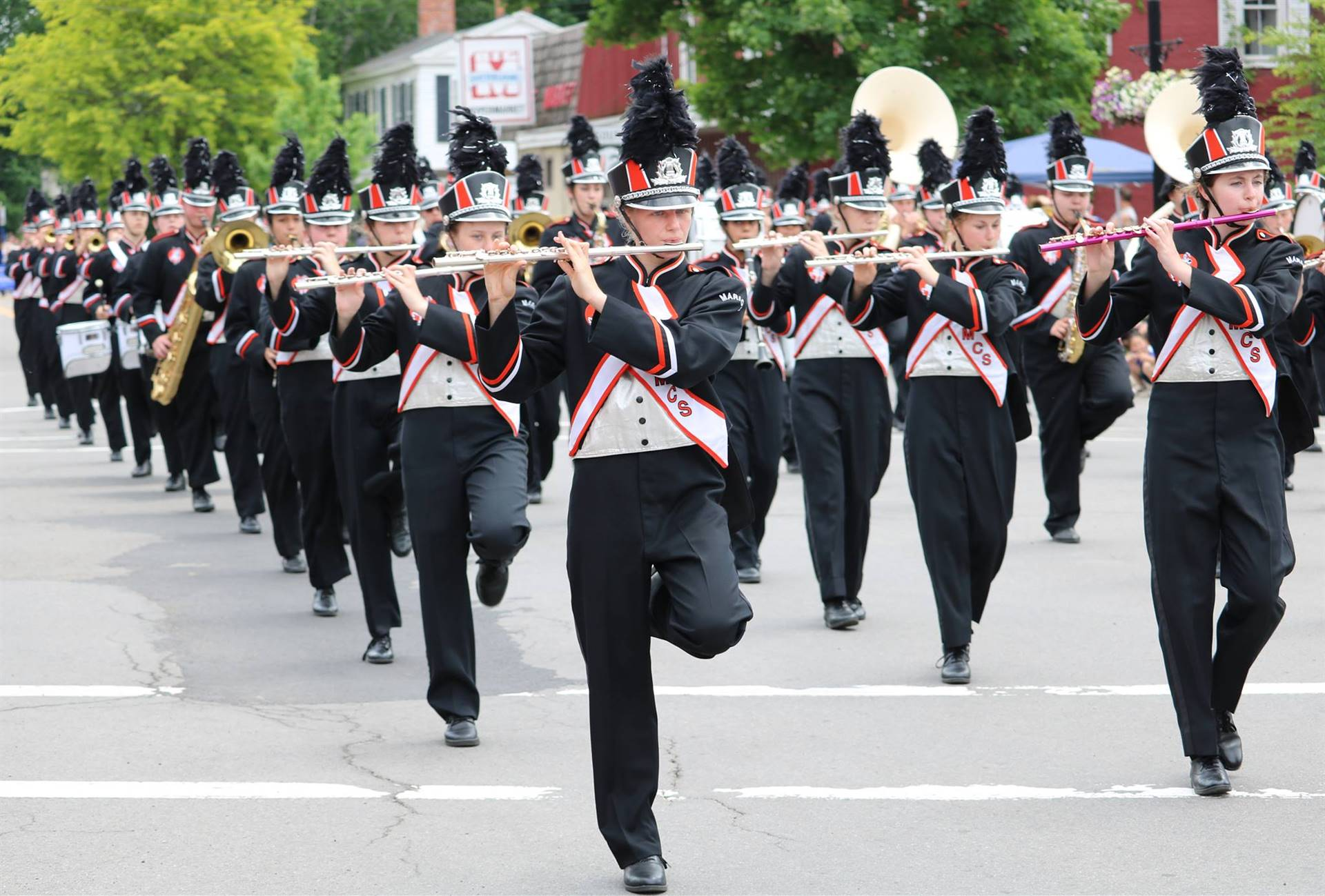 Sherburne Pageant of Bands 2018 Parade photo