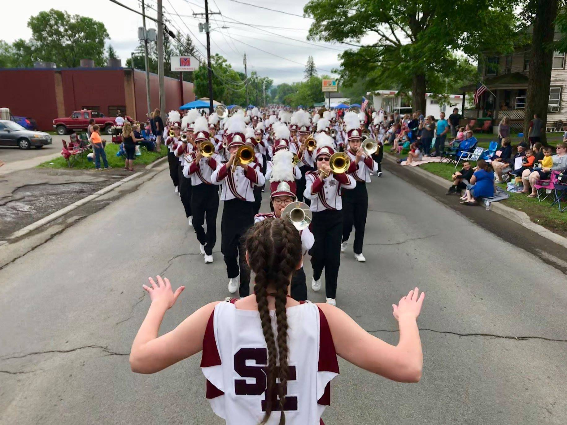 Sherburne Pageant of Bands 2018 Marching Band photo
