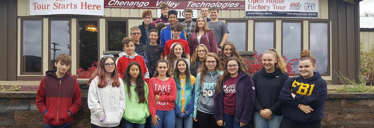 Chenango Valley Technologies Field Trip 2019