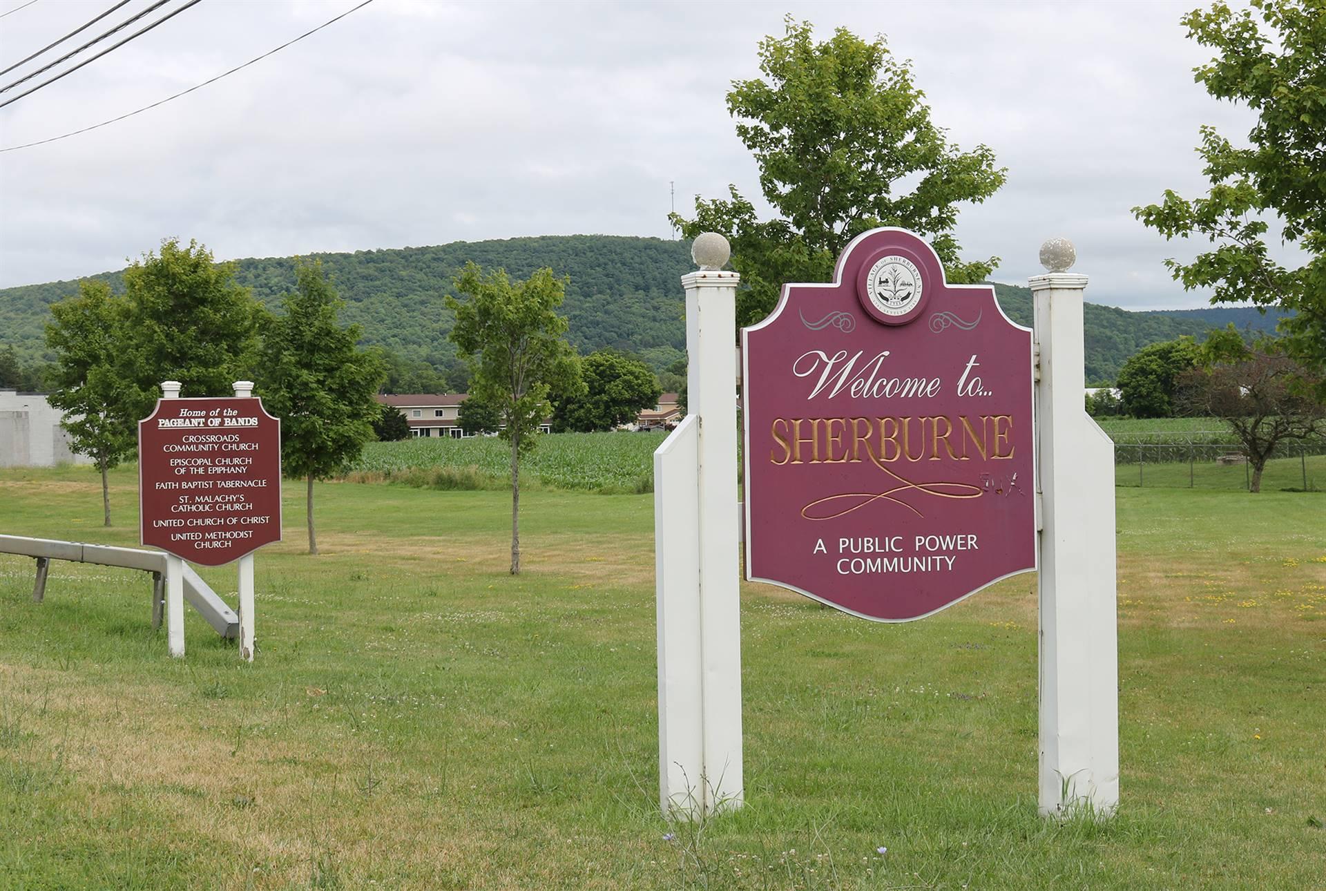 Sherburne sign