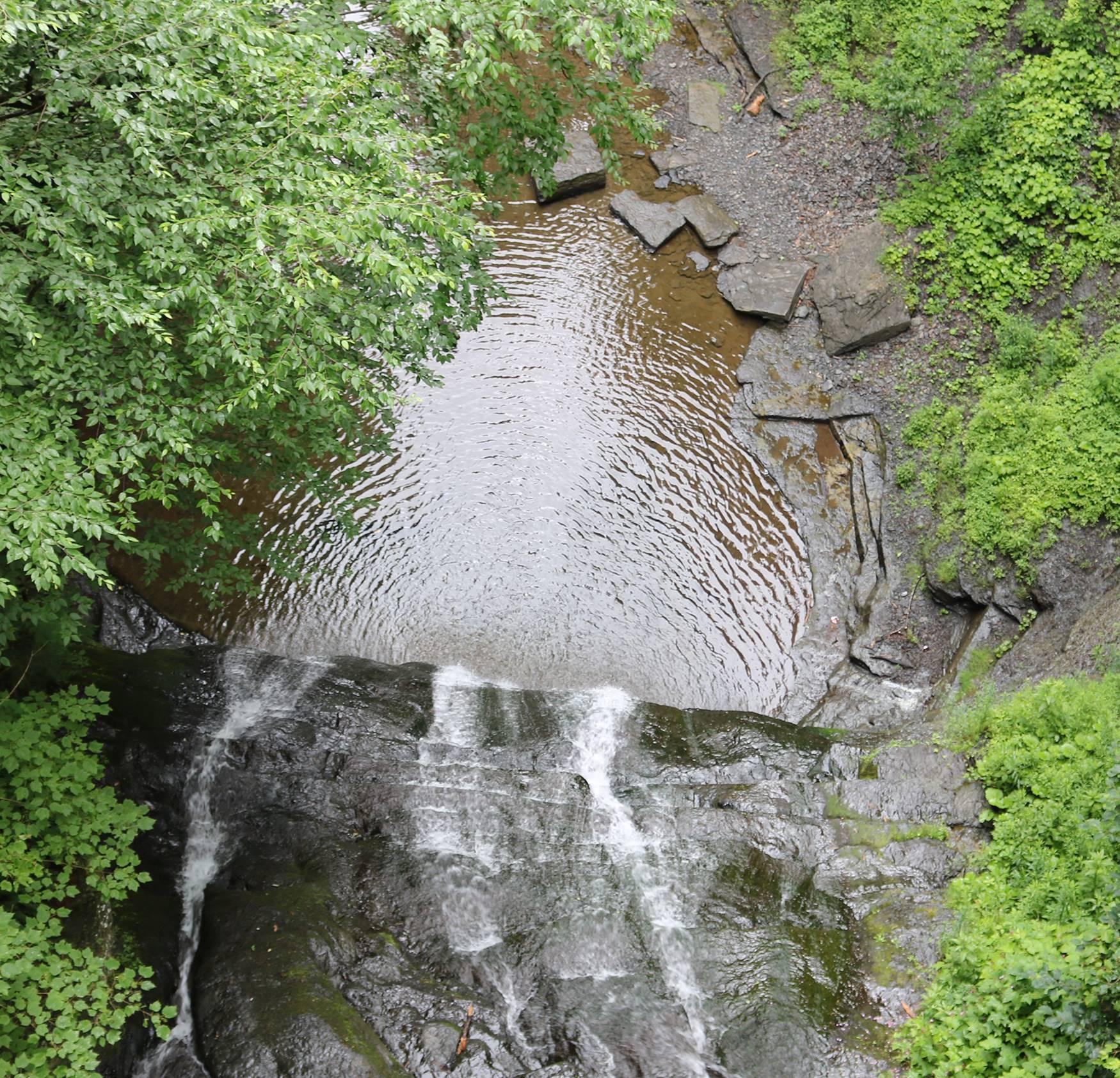 Rexford Falls view