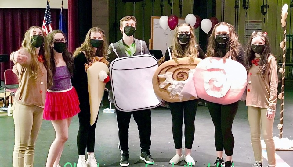 Odyssey of the Mind team pic (2021)