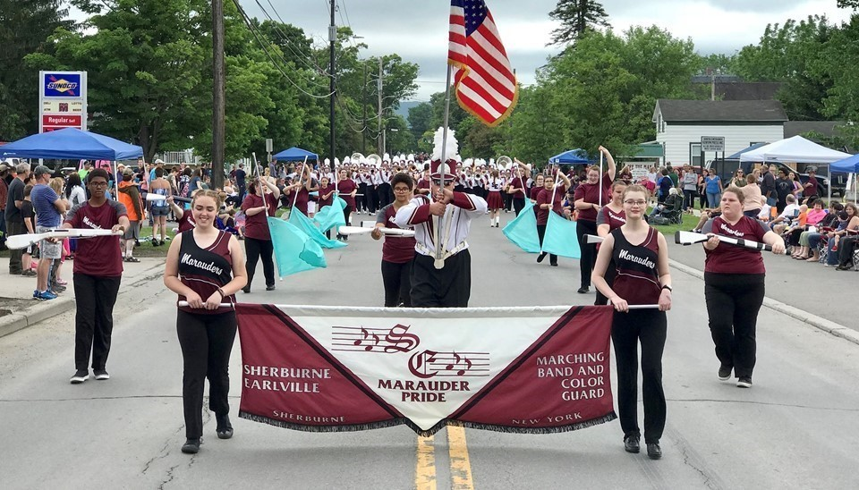 Sherburne-Earlville Pageant of Bands group