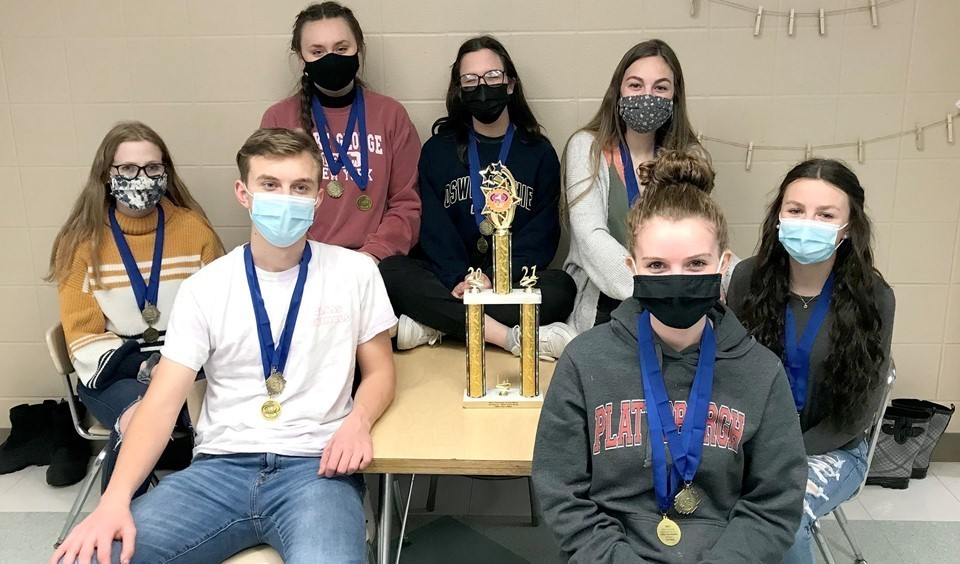 Odyssey of the Mind team pic (5/2021)