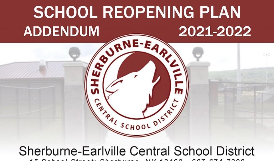School Reopening Addendum illustration (9/2021)